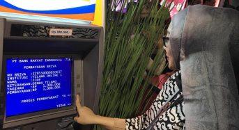 HANYA 300 ATM BRI YANG KENA GANGGUAN, SISANYA PAKAI BRIsat