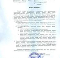 LAPORAN PERTANGGUNGJAWABAN PENGGUNAAN BELANJA HIBAH TAHUN ANGGARAN 2017
