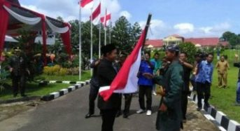 TEATER KOLOSAL KUPAS TANJAB BARAT KEMBALI SUKSES TAMPIL DI PERINGATAN HUT TNI KE 72 DI MUARA SABAK
