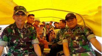 UPACARA HUT TNI 72 KODIM 0419 DIPUSATKAN DI TANJABTIM