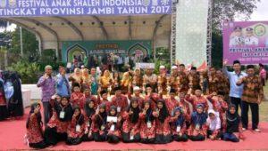 KAFILAH TANJABBAR RAIH JUARA 3 DI FASI TINGKAT PROVINSI JAMBI