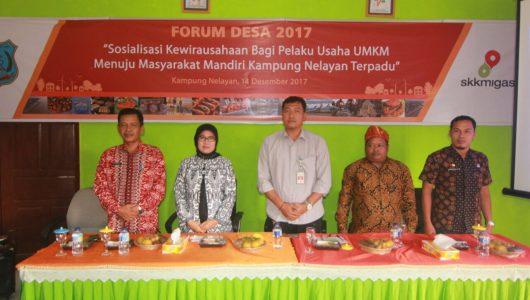 Sosialisasi Kewirausahaan UMKM Kampung Nelayan