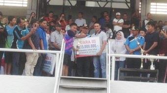 Gubernur Cup 2018, Tanjabbar Puas di Peringkat Tiga dan Tim Fairplay terbaik