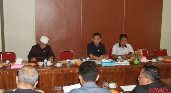 Aliansi Asosiasi Tanjabbar Hearing Dengan Komisi III DPRD