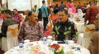 WABUP TANJAB BARAT HADIRI MALAM PISAH SAMBUT DANDREM 042/GAPU