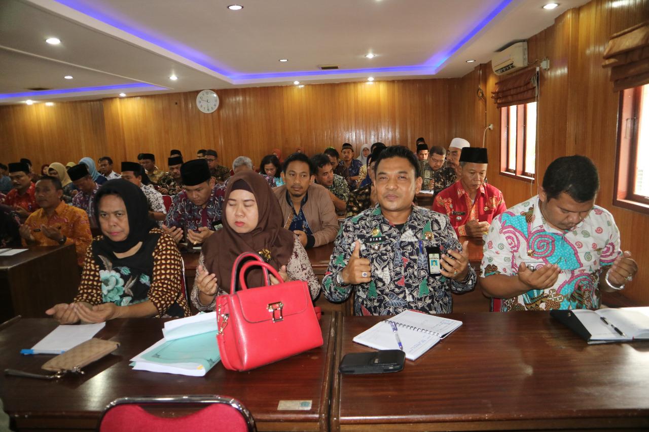 Bupati Buka Rapat Penyempurnaan Hasil Evaluasi Jabatan Pemkab Tanjab