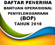 DAFTAR PENERIMA DANA ALOKASI KHUSUS BOP TH. 2018