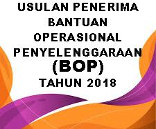 DAFTAR USULAN PENERIMA BOP TH. 2018
