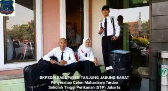 3 PUTRA PUTRI TANJAB BARAT RESMI MASUK ASRAMA STP JAKARTA