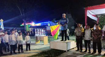 CAMAT PENGABUAN LEPAS FESTIVAL ARAKAN SAHUR RAMADHAN TINGKAT KECAMATAN PENGABUAN UNTUK MELESTARIKAN BUDAYA
