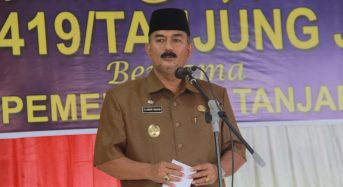 WABUB AMIR SAKIB HADIRI HALAL BI HALAL DI KODIM 0419/TANJAB