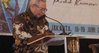 BUPATI SAFRIAL MENJADI NARASUMBER FGD REVITALISASI KEMITRAAN PROGRAM PRUKADES DI JAKARTA