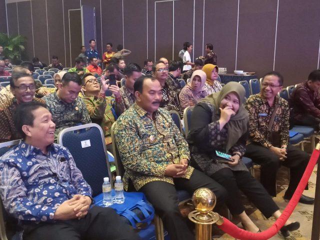 WABUP AMIR SAKIB HADIRI RAKERNAS APKASI SMART REGENCY AND FORUM 2019 DI BALI